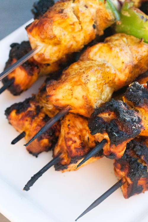 Stick it to the Naan: Tandoori-Spiced Turkey Skewers