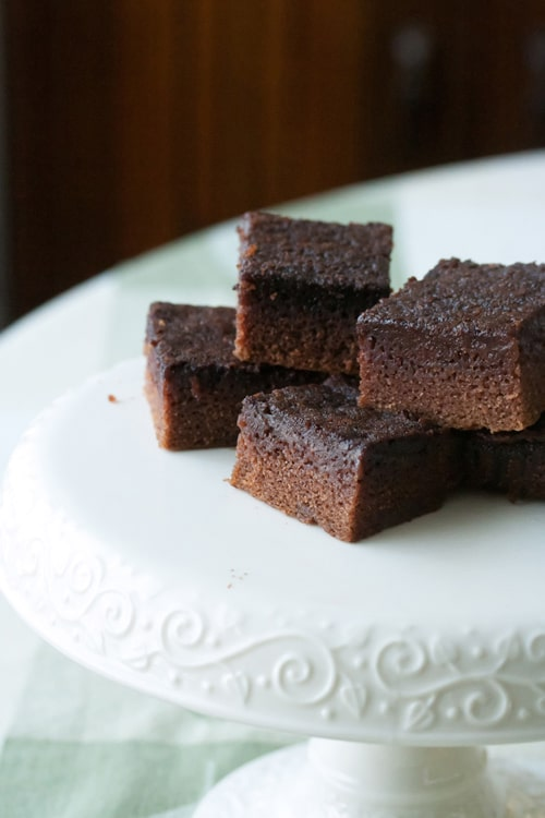 Secret Recipe Club: Cocoa (Kinda) Mochi Cake