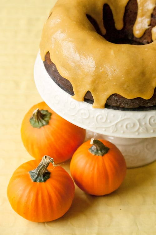 Chocolate Pumpkin Spice Bundt