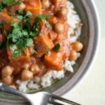 Secret Recipe Club: Chickpea and Sweet Potato Curry