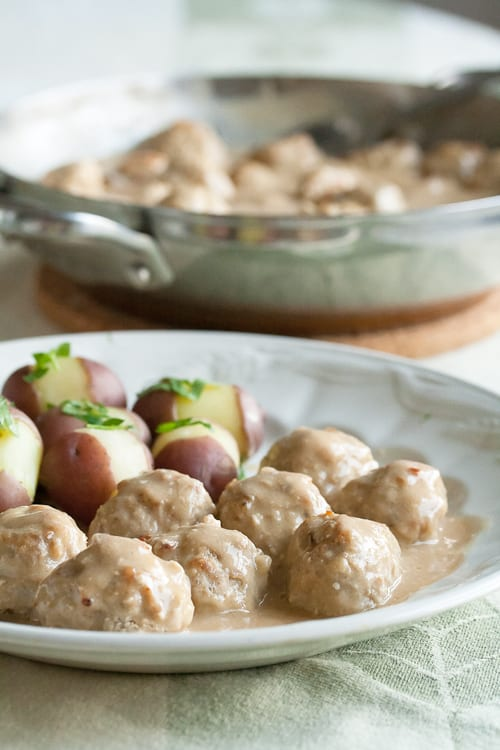 Comfort Food Makeover: Turkey Swedish Meatballs