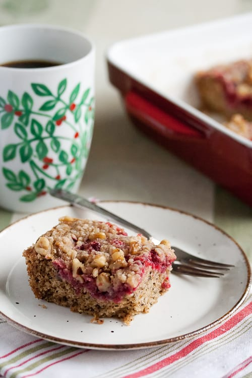 Cranberry-Walnut Coffeecake