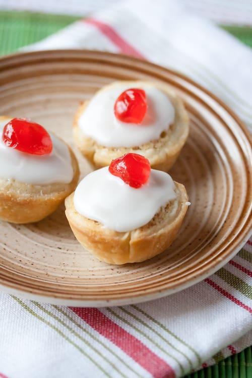 Christmas Week: Mini Bakewell Tarts