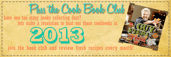 Pass the Cookbook Club Banner
