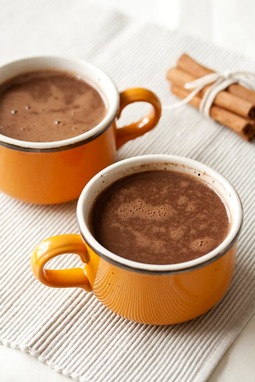 Dairy-Free Mexican Hot Chocolate - Crumb: A Food Blog