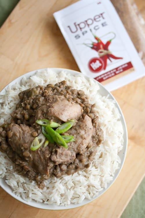 Recipe Rewind: Daffodil's Jerk Chicken and Lentil Stew