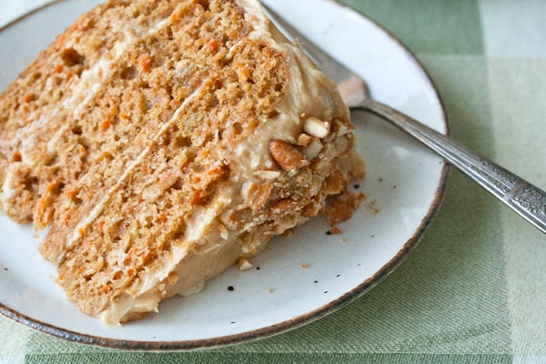 Guest Post: Carrot Cake with Peanut Butter Cream Cheese Icing - Crumb ...