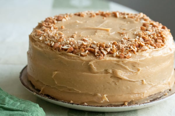 ... Carrot Cake with Peanut Butter Cream Cheese Icing - Crumb: A Food Blog