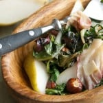 Secret Recipe Club: Roasted Spring Greens with Hazelnuts and Pecorino