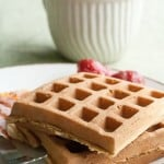 Introducing the Canadian Food Experience Project: Red Fife Waffles with Maple Syrup