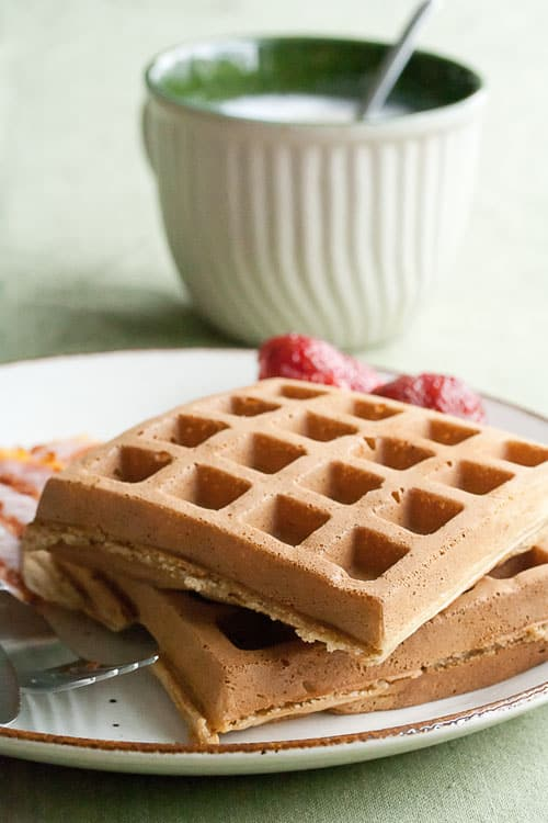 Red Fife and Maple Waffles