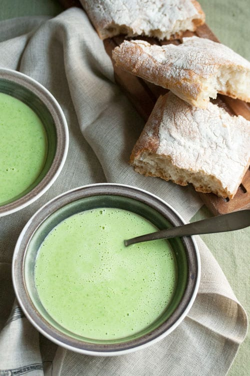 Pure Simplicity: Fresh Easy Sweet Pea Soup