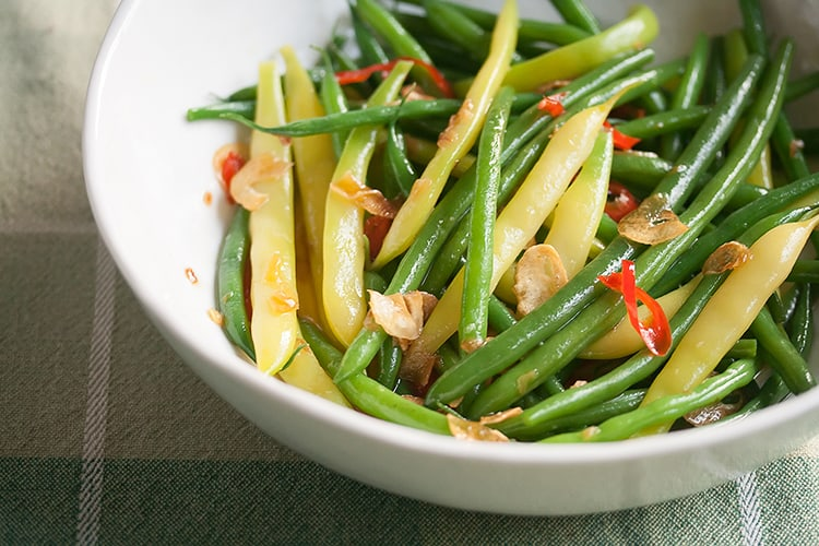 Beans with Toasted Garlic and Chili