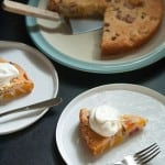 Secret Recipe Club: Easy Peach Rhubarb Cake