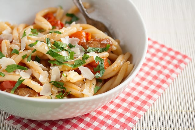 Penne from Heaven: Easy Cherry Tomato Pasta | Crumb: A Food Blog