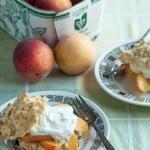 Peachy Keen: Gingery Fresh Peach Shortcakes