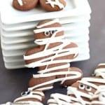 Chocolate Pumpin Spice Mummy Cookies
