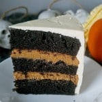 Chocolate Pumpkin Layer Cake
