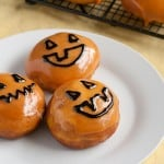 Guest Post: Pumpkin Donuts with Peanut Butter Cream