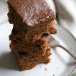 The Great Pumpkin: Sticky Pumpkin Spice Gingerbread Cake