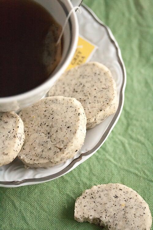 Earl Grey Icebox Cookies