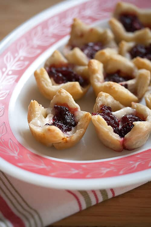 Making Merry: Brie and Cranberry Bites