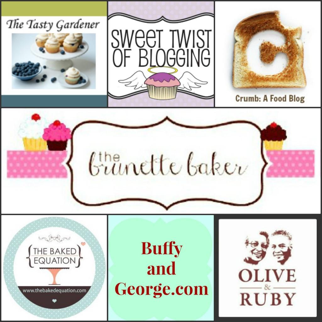 Brunette Baker Giveaway Blogger Collage