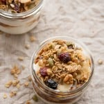 Going Bananas: Banoffee Yogurt Parfaits and a Bloggy Birthday Giveaway