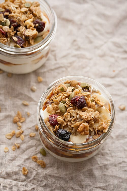 Banoffee Yogurt Parfait