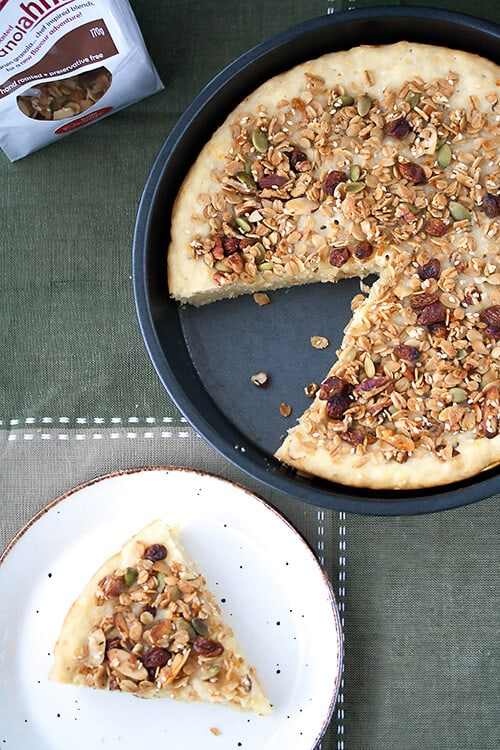 Hello My Sunshine: Rosemary-Orange Granola Coffee Cake
