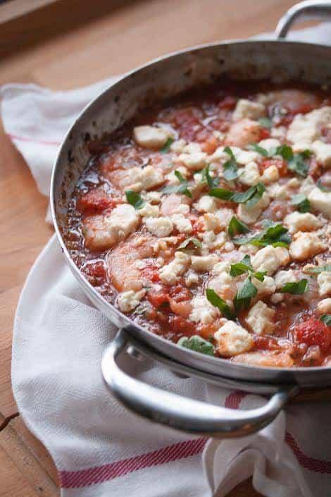 Guest Post: Saganaki Shrimp for Cravings of a Lunatic