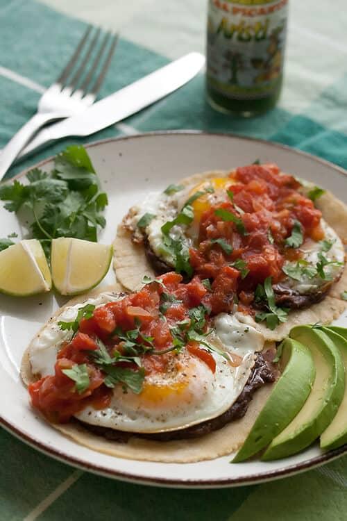 Huevos Rancheros - Crumb: A Food Blog