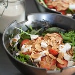 Thank You Berry Much: Strawberry Salad with Poppy Seed Dressing