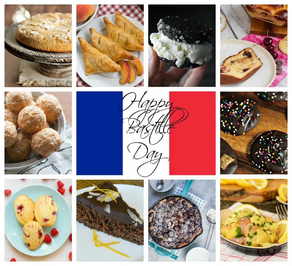 Bastille Day Collage