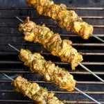 All Up in Yo Grill: Chermoula Chicken Skewers