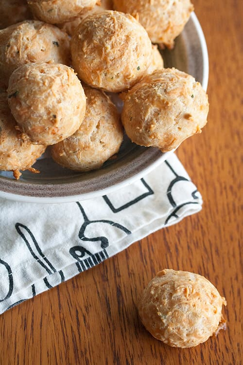 Puff Daddy: Gougeres (French Cheese Puffs)