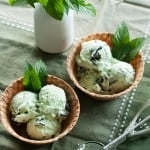 Minty Fresh: Chocolate Mint Chip Ice Cream