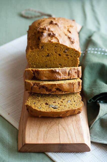 Falling in Loaf: Pumpkin Pecan Bread