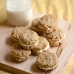 Pucker Up: Lemon Oatmeal Creme Cookies