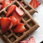 Berried Treasure: Buckwheat Waffles with Macerated Strawberries