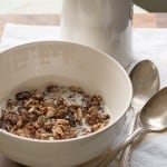 Cherry Blossom Girl: Chocolate Almond and Cherry Granola