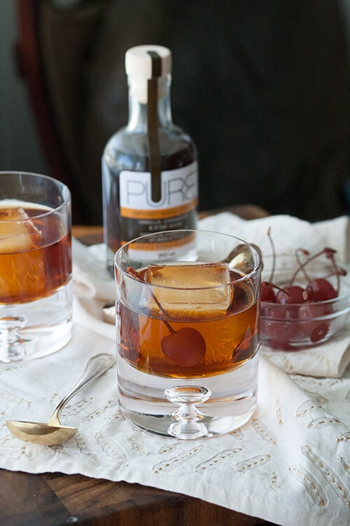 Tap That: Spiced Maple Manhattan | Crumb: A Food Blog