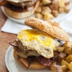 The Epic Brunch Burger