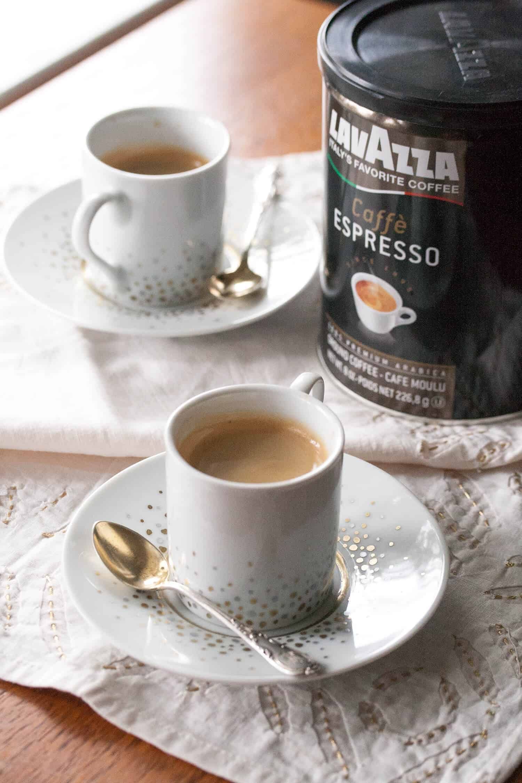 Crafty Like a Fox: Handpainted Espresso Cups
