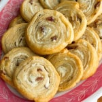 Appy Hour: Goat Cheese and Date Pinwheels for #warmtraditions
