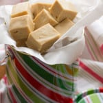 5-Minute Cookie Butter Fudge
