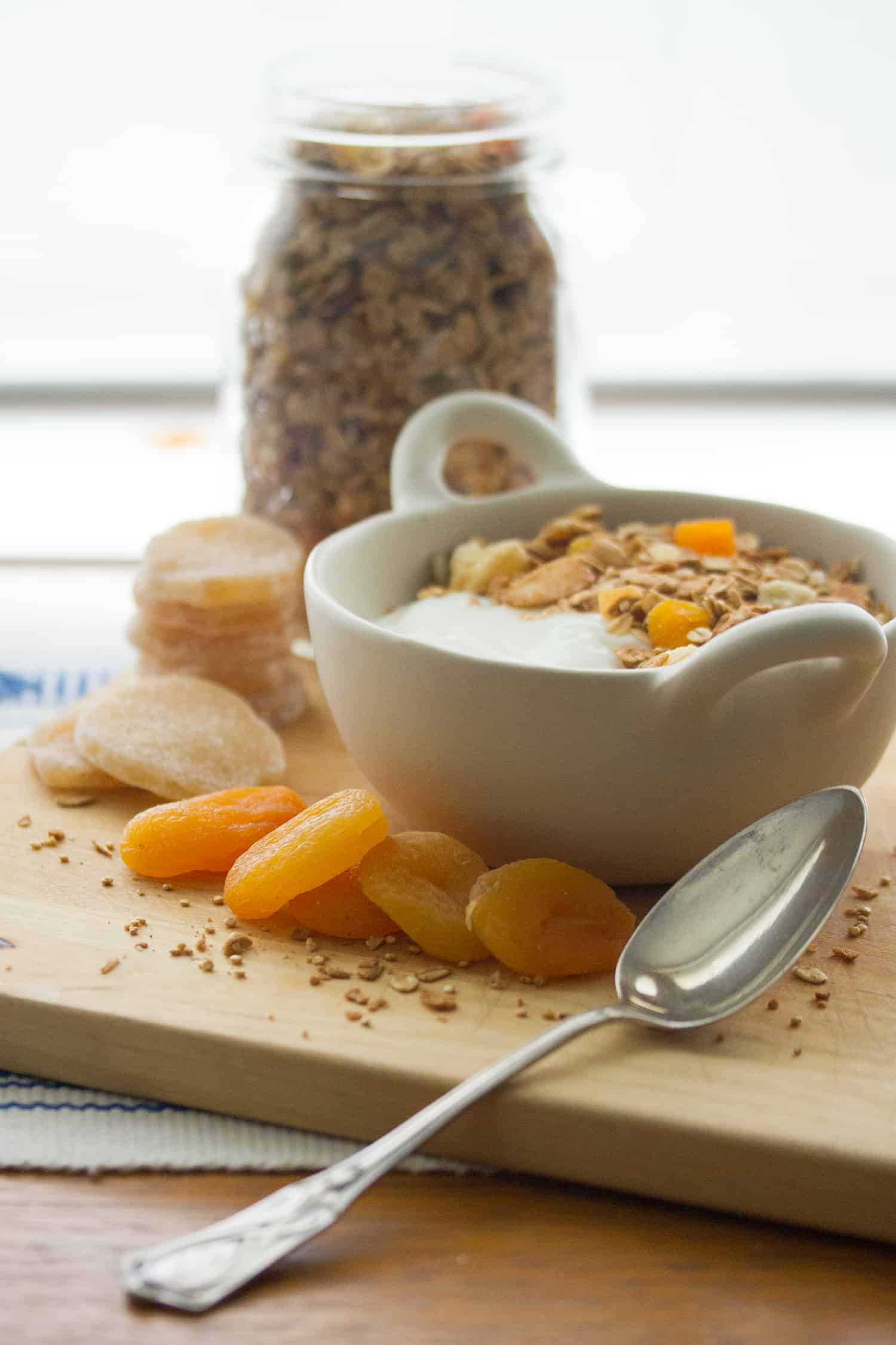 One Up Your Cup: Ginger-Almond Granola