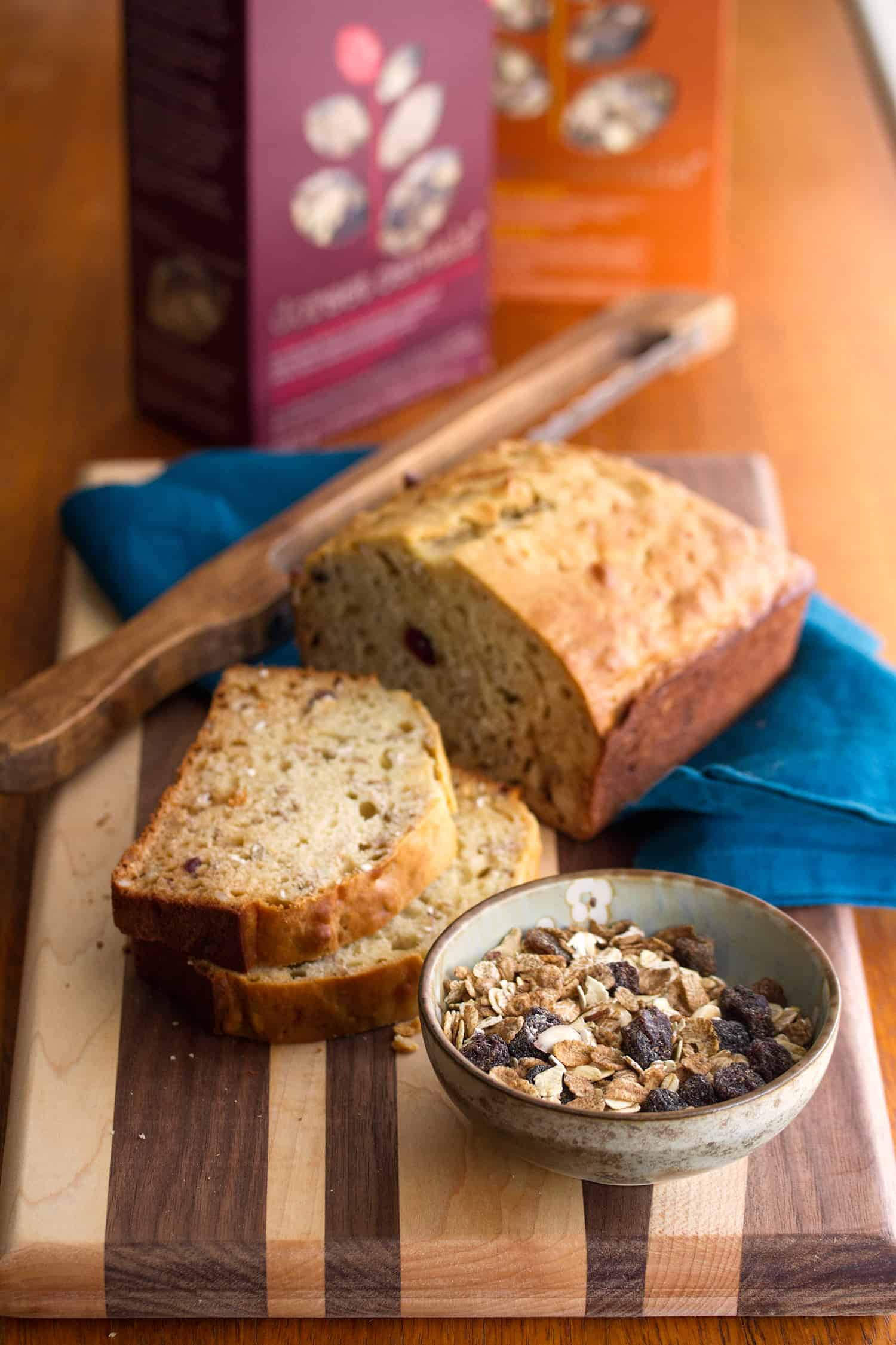Good Morning: Muesli Quick Bread