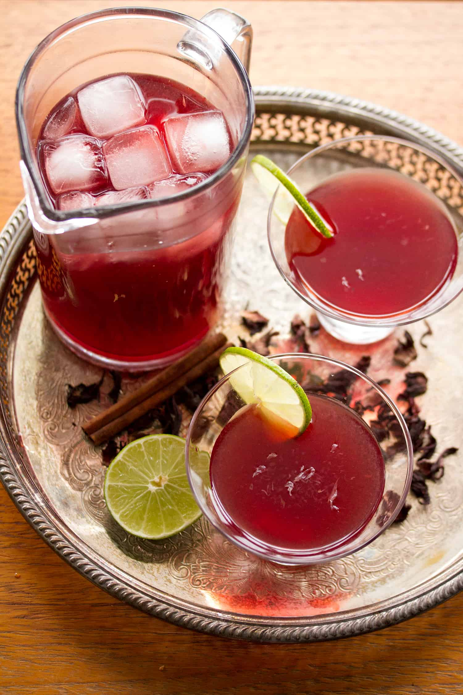 Jamaica Me Crazy: Hibiscus Margaritas