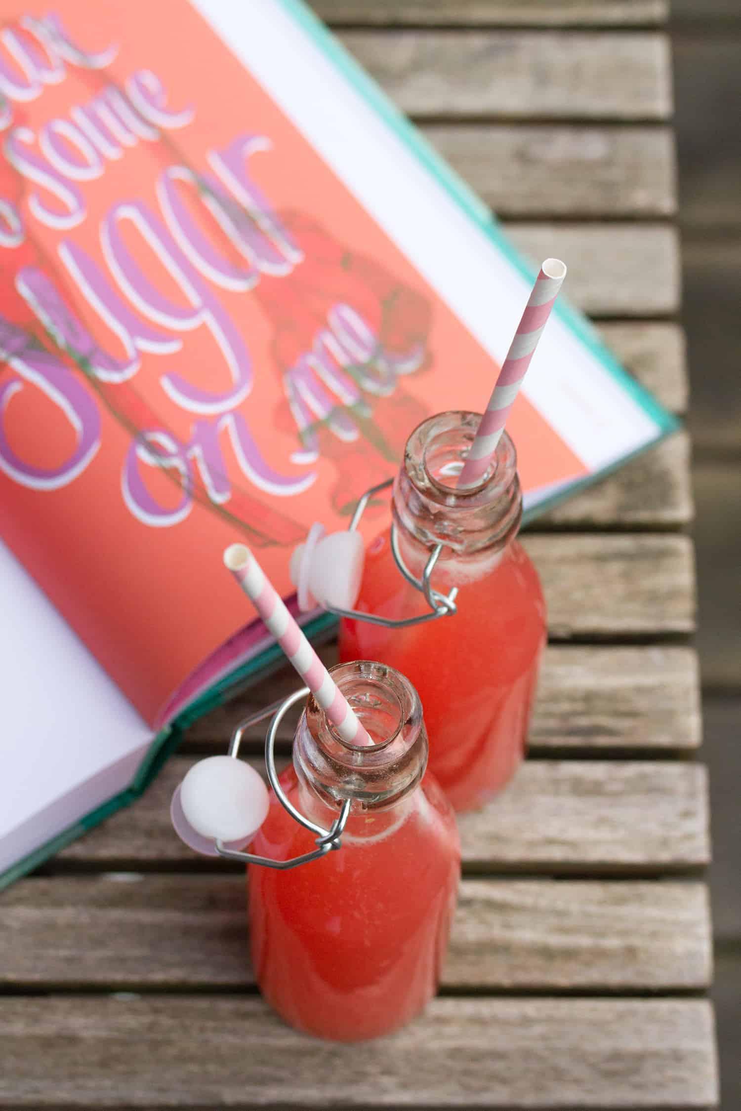 Rhubarb Soda